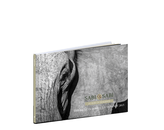 Sabi Sabi A4 Panoramic book